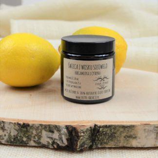 Świeca bergamotka i cytryna