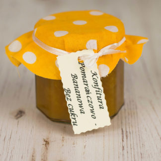 Konfitura pomarańczowo-bananowa bez cukru