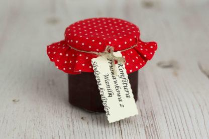 Konfitura truskawkowa z wanilią słodz.ksylitilem