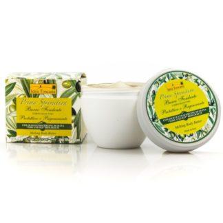 Naturalne, kremowe masło do ciała z oliwą