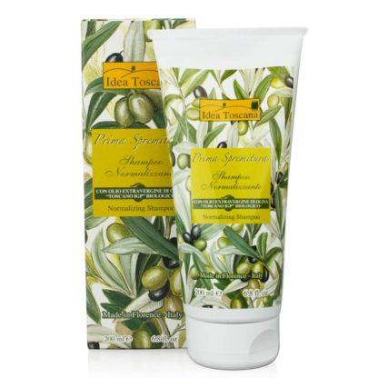 Normalizujący szampon do włosów z oliwą z oliwek