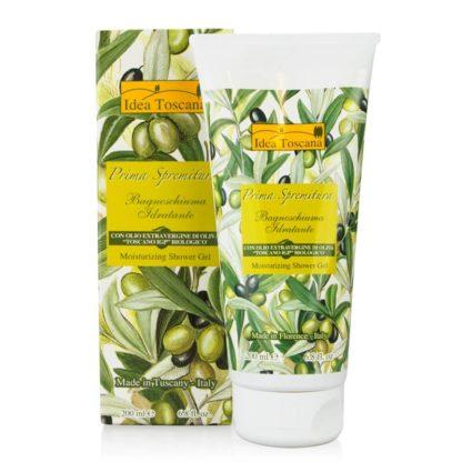 Naturalny żel pod prysznic z oliwą z oliwek