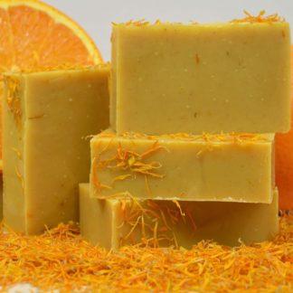 Mydło nagietek i pomarańcza